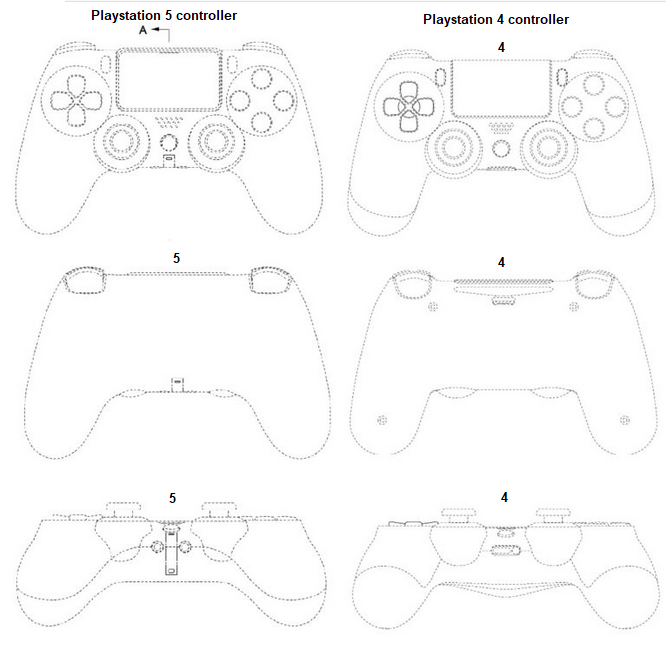 playstation 5 controller design