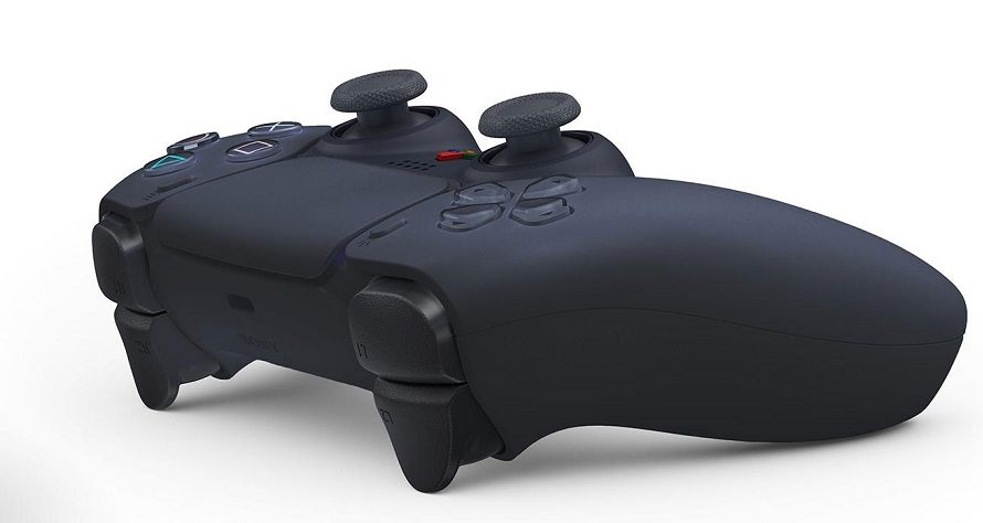 zwarte Playstation5 controller